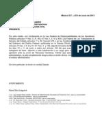 Peticion Firma Milliani Rene