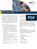 Quality Assurance Services