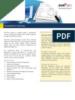 Biostatistics Services