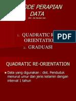 Metode Perapian Data