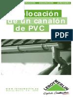 Colocación de un Canalón de PVC