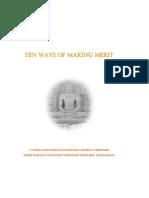 Ten Ways of Making Merit