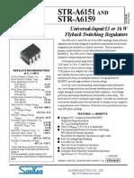 Str a6151 Str a6159 Datasheet