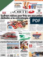 Periódico Norte de Ciudad Juarez 26 de Noviembre de 2013