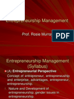 1. Entrepreneurial Perspectives