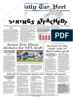 The Daily Tar Heel for November 26, 2013
