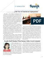Syunik NGO Newsletter Issue 12