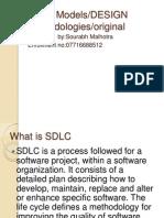 models of sdlc ppt original software development process agile