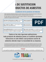 Guia de Sustitucion de Asbesto Teadit