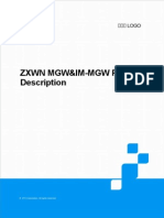 ZXWN MGW&IM-MGW Product Description
