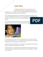 Henry Sy Success Story