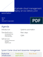 SC2012 Service Delivery Automation - Configure and Deploy - L300