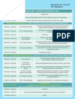 5th Proteomics Scientific Schedule