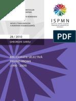 ISPMN Bibliografie Romi