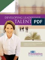 Developing Lead Talent- FINAL