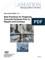 Best Practices for Preparing Concrete Surfaces Prior to Repairs and Overlays