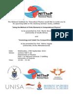 Gauteng Seminar 2 (Announcement)