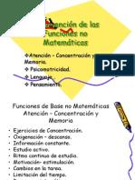 Intervención de las Funciones no Matemáticas