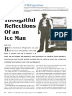 Reflection of an Ice Man