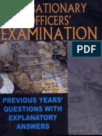 Probationary Officers Examination