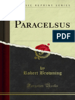 Paracelsus by Robert Browning