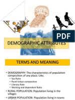 demographic attributes