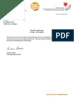Geldverschwendung Air Alps - Landtagsanfragen Andreas Pöder & Antworten