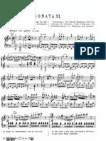 Mozart Sonata XI Piano