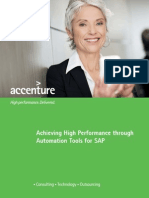 Achieving High Performance Through Automation