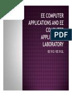 EE computer application