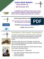Inclusion North Bulletin 55