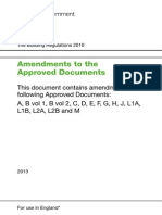 Part F Amendments