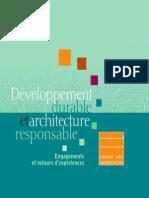 Developpement Durable Et Architecture Responsable