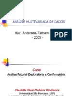 Analise Multivariada e Analise Fatorial