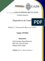 Practica1 FENDER