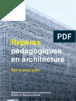 Repères pédagogiques en architecture