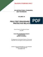 Relay Testing Procedure