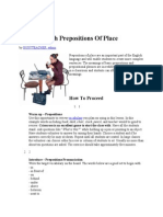How to Teach Prepositions of Place