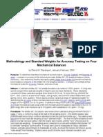 Accuracy testing on four mechanical balances.pdf
