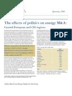 EffectofPoliticsonEnergyM&a.jan06