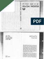 Peter Brook - Prazni Prostor