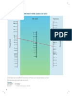 Nommo Gram for Determining Hose Diameter