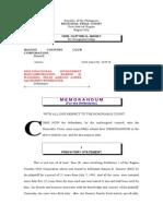 Memorandum.bcc vs. Mib