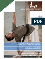 Isha Hata Yoga Teacher Training Information Packet 2013