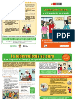 Diptico La Tuberculosis Se Cura Blanco