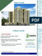 Arihant Aarohi Price List Call @ 09999536147 In Dombivli, Outer Mumbai
