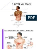 Anatomy and Physiology of Gastro Intestinal Track
