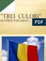 """Trei culori"", de Ciprian Porumbescu"