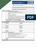 The Corporate Financing Forum Agenda 2013