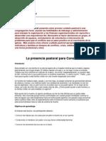Administración Pastoral Parte 34